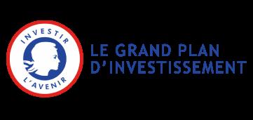 Logo le grand plan d'investissement, inventer l'avenir